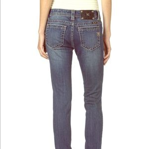 🆕 Miss Me Medium Wash Mid Rise Skinny Denim Jeans
